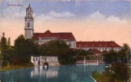 ALTE AK  HERZOGENBURG / NÖ  - Teilansicht - 1917 - Herzogenburg