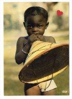 00480-LE-AFRIQUE EN COULEURS-  L�enfant au chapeau-------------�crite du Tchad