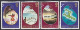 GILBERT/ELLICE Is, 1973 XMAS 4 MNH - Gilbert- En Ellice-eilanden (...-1979)