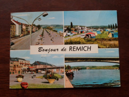 Bonjour De REMICH - Anno 1971 ( Zie Foto Details ) !! - Remich