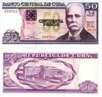 CUBA 50 Pesos 2013 P-123 new  *UNC*