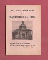 *Petit Livret  ( 1929 ) : Maison Paternelle De Saint François D´Assise  :  Voir Les 11 Scans - Documents Historiques