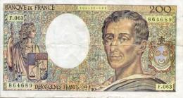 200 Francs- Faux Billet - 200 F 1981-1994 ''Montesquieu''
