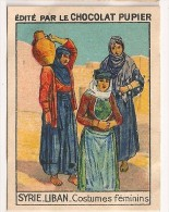 "Image N° 45 De L´album ""L´Asie"". 1938. Chocolat Pupier. Syrie Liban. Costumes Féminins Foustane Nikab Hijab Bédouine - Other"