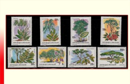 Rwanda 0919/26** Arbres et arbustes MNH