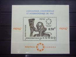 REP.DU CONGO BLOC 22 Xx ( COB ) COTE : 4 ( B ) - Neufs