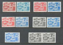 1969 NORDIC ISSUE SETS - NORDEN - DENMARK ICELAND NORWAY FINLAND SWEDEN ALL MNH ** - Gemeinschaftsausgaben