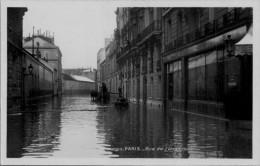 INONDATION 1910  / RUE  DE L'UNIVERSITE /  LOT  1045 - Alluvioni Del 1910