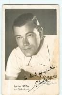 Lucien BODA - Autographe Manuscrit -  Equipe ALCYON Den 1942 / 43 Et 44 - 2 Scans - Ciclismo