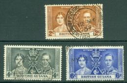British Guiana: 1937   Coronation     Used - Guyane Britannique (...-1966)