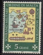 PIA - SMOM - 1968 : Sedi Dell´ Ordine  - (UN  23-26) - Malta (la Orden De)