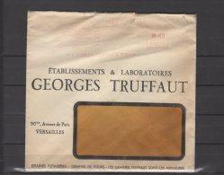 78 - Versailles - Geoges Truffaut  - Etablissements & Laboratoires -  Env. Pub Voyagée - Postmark Collection (Covers)