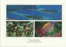Vanuatu - CPM Neuve ** - Unused Postcard - South Pacific Paradise - Paysage - Landscape - Island - Ile - Faune Marine - Vanuatu