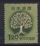 W2277 - GIAPPONE 1948 , yvert n. 382  *  mint
