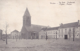 WAKKEN : De Kerk - Postbureel - Dentergem