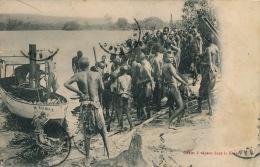 AFRIQUE - CONGO FRANCAIS - BANGUI - Canot à Vapeur Dans La Kotto - Congo Français - Autres