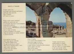 T7140 TINDARI Messina CASA ROMANA OPERA DI QUASIMODO VENTO A TINDARI (m) - Messina