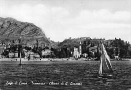 LAGO DI COMO - TREMEZZO - CHIESA DI S. LORENZO - ITALY - REAL PHOTOGRAPHIC POSTCARD - Como