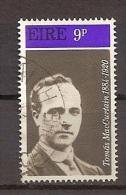 Irland 1970, Nr. 244 Tomás MacCurtain, Freiheitskämpfer Gestempelt - 1949-... Republik Irland