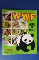 PGB/11 Album Panini Figurine Didatt. WWF ANIMALI DA SALVARE 1986 + GIOCO STICK & STACK - Panini