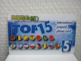Prepaidcard Belgium Top 15 Used