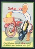 AK Werbepostkarte FAKRA - 36. Internationale Automobilausstellung In Frankfurt 1953 - Advertising