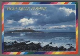 T7201 ISOLA DELLE FEMMINE Palermo ISOLOTTO VG (m) - Palermo