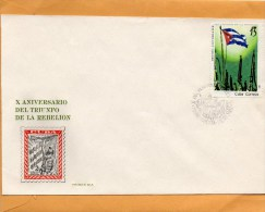 Cuba 1969 FDC - FDC