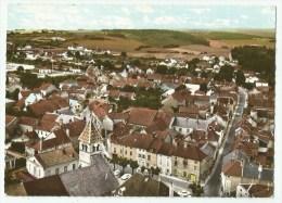 Is-sur-Tille (21) vue g�n�rale a�rienne