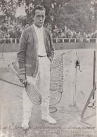 """Tennis / Document Photo 1926 / Henri Jean COCHET """"le Magicien"""" Finaliste Championnats Internationaux De France Paris - Sport"""