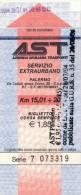 PALERMO AST SERVIZIO EXTRAURBANO 15\20 KM