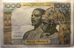 1000 Francs Type 1960 ND Cote D'Ivoire - Billets