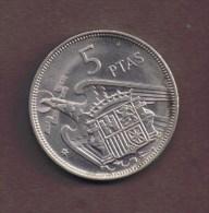 ESPANA 5 PESETAS 1957 (70) - [ 5] 1949-… : Regno
