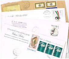 ITALIA (ITALY) - STORIA POSTALE -  2000.2002 LOTTO DI 4 BUSTE  PER L' INTERNO   - RIF.2105 - 2001-10: Poststempel