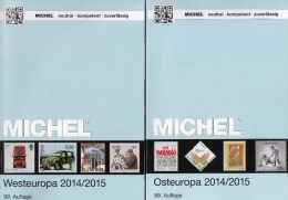 MICHEL Ost/West-Europa Katalog 2015 Neu 124€ Band 6+7 : B Eire GB Jersey Man Lux NL PL Rus USSR Ukraine Moldavia Belorus - Libros Narrados