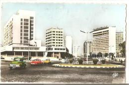 CASABLANCA - L'avenue De L'Armée Royale, Es Hôtels Marhaba Et El Mansour - La C T M - N°1037 - Casablanca