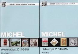 MICHEL Ost/West-Europa Katalog 2015 Neu 124€ Band 6+7 : B Eire GB Jersey Man Lux NL PL Rus USSR Ukraine Moldavia Belorus - Sammlungen