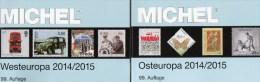 MICHEL Ost/West-Europa Katalog 2015 Neu 124€ Band 6+7 : B Eire GB Jersey Man Lux NL PL Rus USSR Ukraine Moldavia Belorus - Non Classés