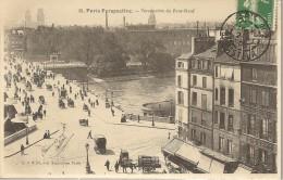 PARIS - Perspective Du Pont-Neuf - 1er Plan Chapellerie Du Pont - Animé - Arrondissement: 06