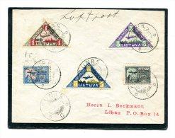 Lietuva Cover Airmail 1922