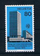 Schweiz 1973 Fernmeldeunion Mi.Nr. 10 ** - Dienstpost