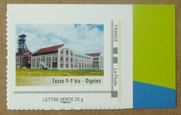 Rep03 Fosse 9- 9 Bis  - Oignies (autocollant / Autoadhésif) - France