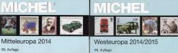 Mitte/West-Europa MICHEL Katalog 2015 New 124€ Part 1+6 A CH UN Genf Wien Slowakei CZ CSR HU B Eire GB Jersey Man Lux NL - Creative Hobbies