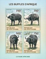 ic14101a Ivory Coast 2014 Buffalo s/s