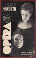 Opéra - L' Avant Scène N° 40 . VERDI : Macbeth De 1982 , 143 Pages . Voir Sommaire . - Musique