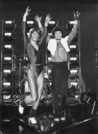 Photo  De Presse - Robert  CHARLEBOIS  Et Marie-christine  DEBOURSE  En 1983 - Célébrités