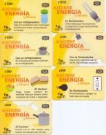 USED PHONE CARDS   COSTA RICA  7V - Costa Rica