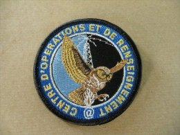 Ecusson De Bras Centre D'opérations Et De Renseignement - Police & Gendarmerie