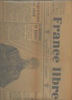 Journal France Libre Jeudi 14 Septembre 1944 - Giornali