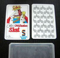 Jeu de cartes  - Skatspiel - Ottifanten - Schmidt Spiele - Elefanten - �l�phant - Skat Karten 32 Blatt - bo�te